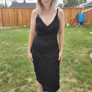 STUNNING ruched sparkly dress
